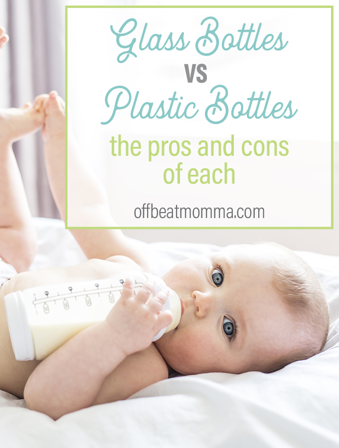 glass bottles or plastic bottles, the pros and cons of each
